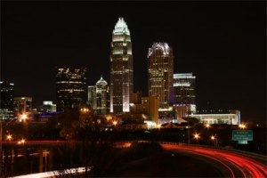Charlotte, NC at Night