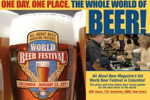 World Beer Festival in Columbia on January 22nd